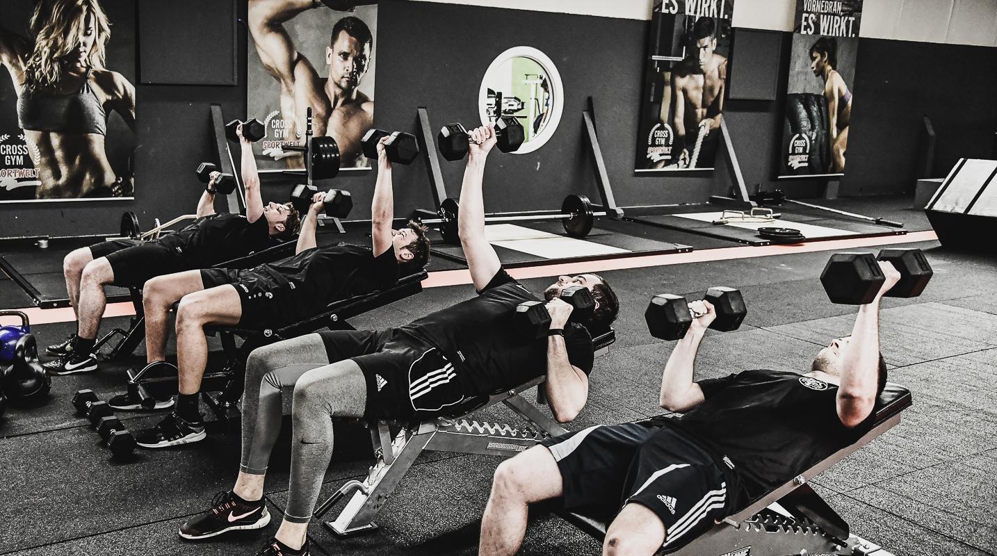 TSC Pottenstein 1. Mannschaft beim Cross Gym Training mit
